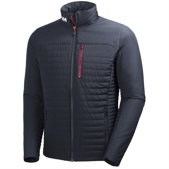Helly Hansen Mens Crew Insulator Jacket, Navy