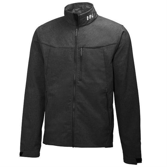 Helly Hansen Mens Paramount Softshell Jacket, Black