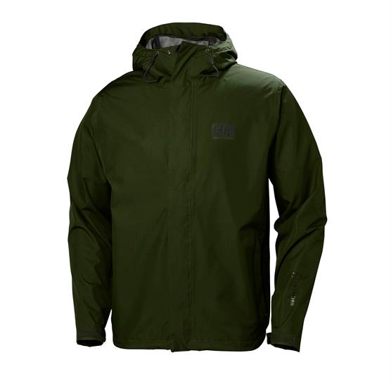 Image of   Helly Hansen Mens Seven J Jacket, Forest Night