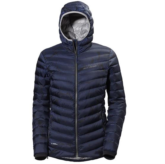Image of   Helly Hansen Womens Verglas Hooded Down Insulator, Blue