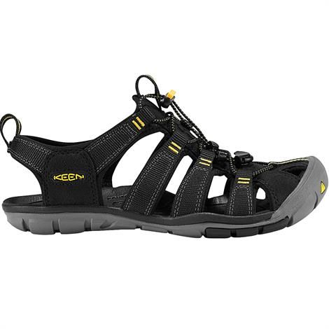 Keen Womens Clearwater CNX, Black / Yellow