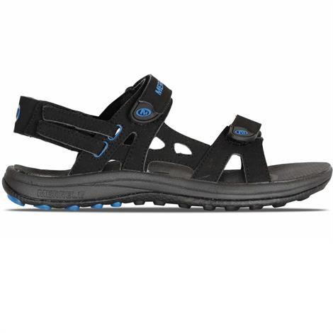 Image of   Merrell Cedrus Convertible Herre, Black / Snorkel Blue