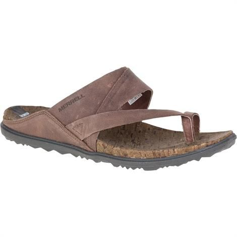 Image of   Merrell Around Town Thong Dame, Brown
