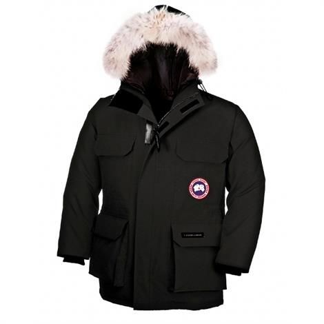 Image of   Canada Goose Youth Expedition Parka, Black