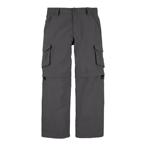 The North Face Boys Zenith Convertible Pant, Graphite Grey
