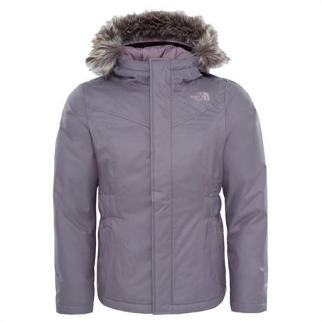 Image of   The North Face Girls Greenland Down Parka, Rabbit Grey