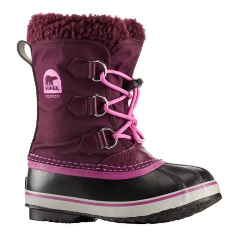 Image of   Sorel Yoot Pac Nylon Børn, Purple Dahlia