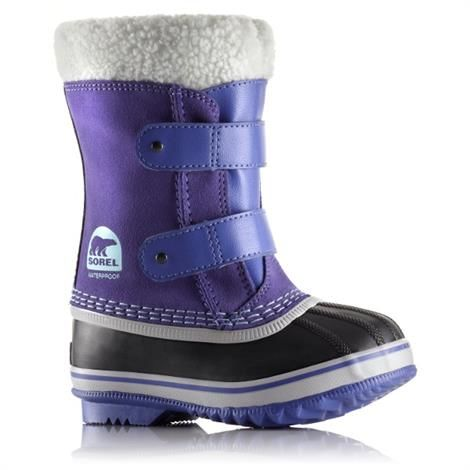 Image of   Sorel 1964 Pac Strap Børn, Purple Lotus / Sky Blue