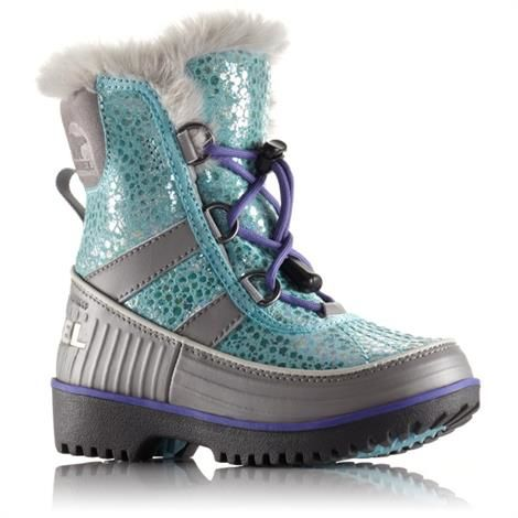 Image of   Sorel Childrens Tivoli II Børn, Purple Lotus / Oyster