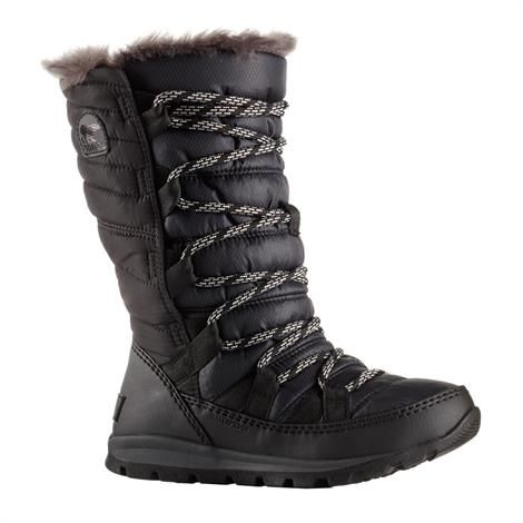 Sorel Youth Whitney Lace Børn, Black