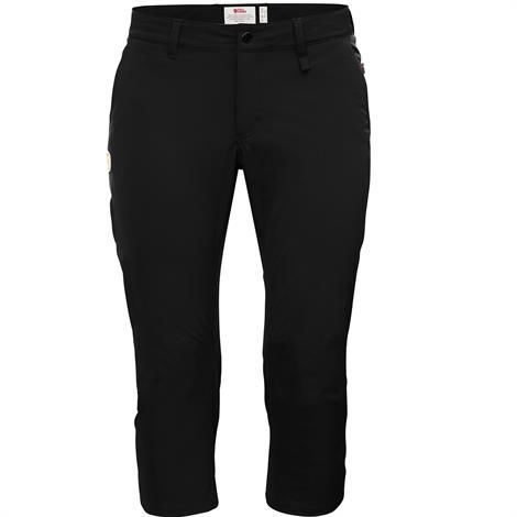 Image of   Fjällräven Abisko Capri Trousers Womens, Black