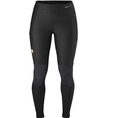 Image of   Fjällräven Abisko Trekking Tights Womens, Dark Grey