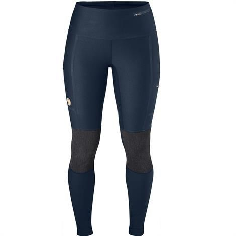 Image of   Fjällräven Abisko Trekking Tights Womens, Navy