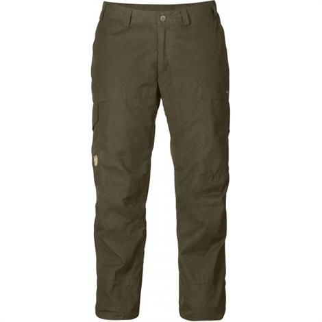 Fjällräven Karla Trousers Hydratic Womens, Dark Olive