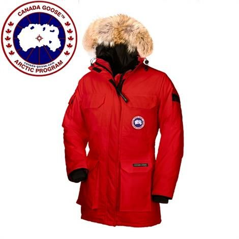 Image of   Canada Goose Ladies Expedition Parka, Red