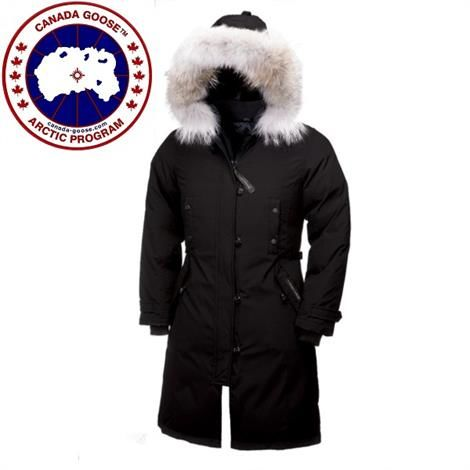 Image of Canada Goose Ladies Kensington Parka, Black