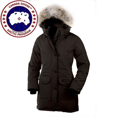 Image of   Canada Goose Ladies Trillium Parka, Black