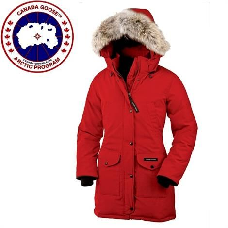 Image of   Canada Goose Ladies Trillium Parka, Red