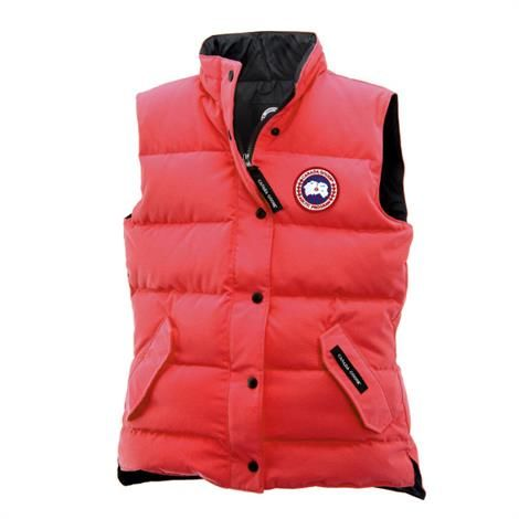 Image of Canada Goose Ladies Freestyle Vest, Torch
