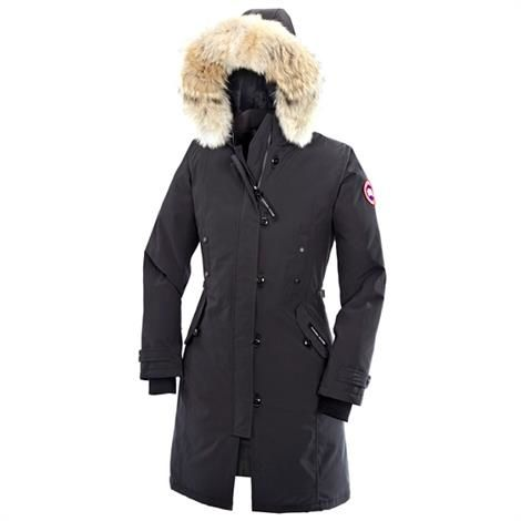 Canada Goose Ladies Kensington Parka, Graphite