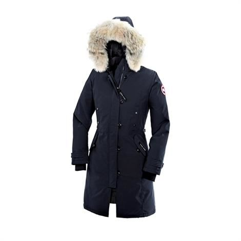 Image of Canada Goose Ladies Kensington Parka, Navy
