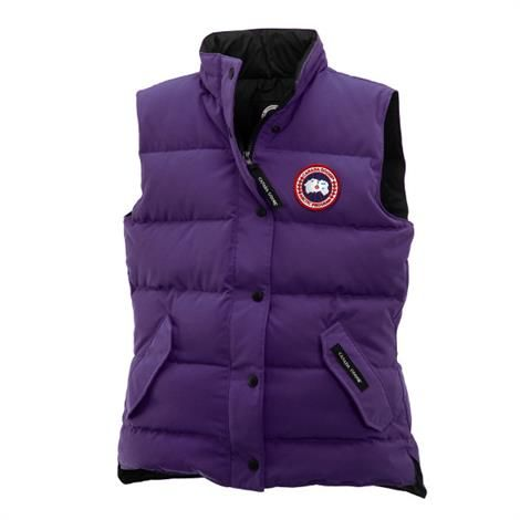 Image of Canada Goose Ladies Freestyle Vest, Arctic Dusk