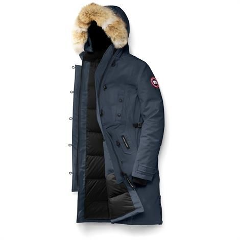 Canada Goose Ladies Kensington Parka, Ink Blue