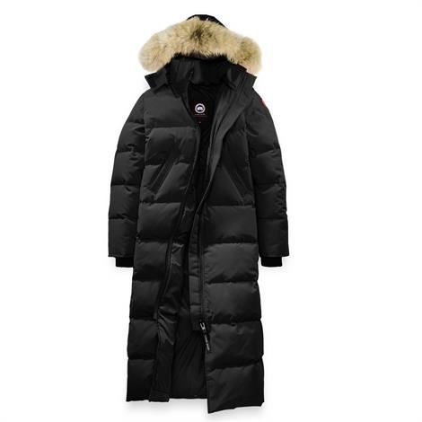 Image of Canada Goose Ladies Mystique Parka, Black