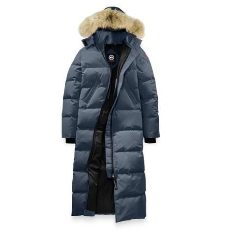 Image of Canada Goose Ladies Mystique Parka, Ink Blue