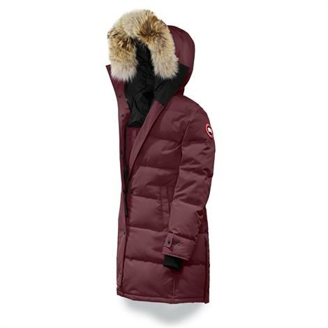 Canada Goose Ladies Shelburne Parka, Plum / Prune