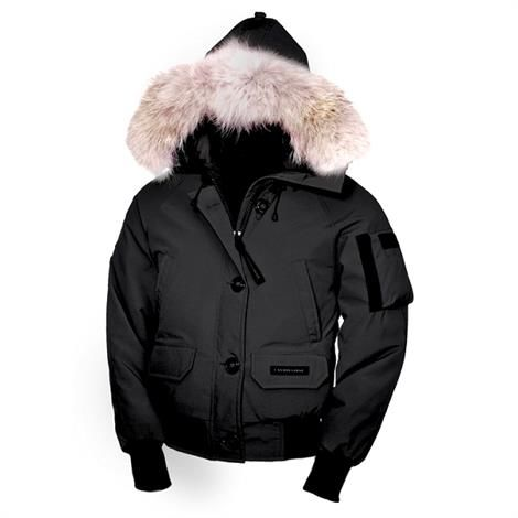 Canada Goose Ladies Chilliwack Bomber, Black