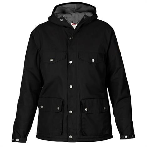 Fjällräven Greenland Winter Jacket Womens, Black / Grey