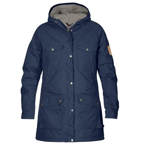 Fjällräven Greenland Winter Parka Womens, Storm / Grey