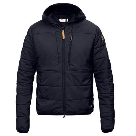 Fjällräven Keb Padded Hoodie Mens, Night Sky