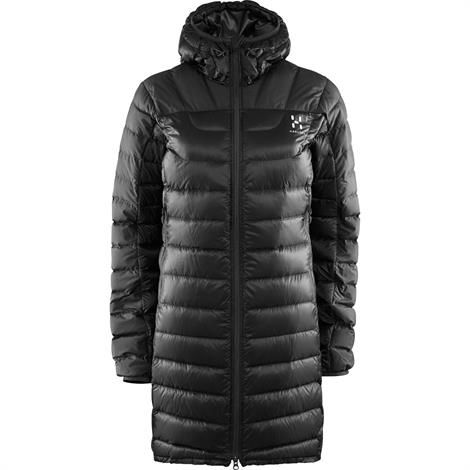 Haglöfs Bivvy II Down Parka Dame, True Black Solid