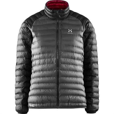 Haglöfs Essens Mimic Jacket Dame, Magnetite / True Black