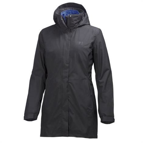 Helly Hansen Womens Bellevue Cis Coat, Ebony