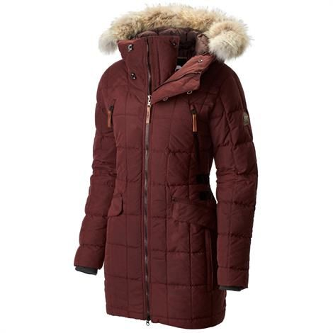 Sorel Conquest Carly Parka Dame, Elderberry