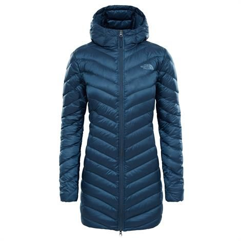 Image of   The North Face Womens Trevail Parka, Ink Blue