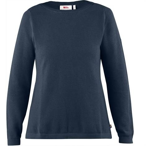 Image of   Fjällräven High Coast Knit Sweater Womens, Navy