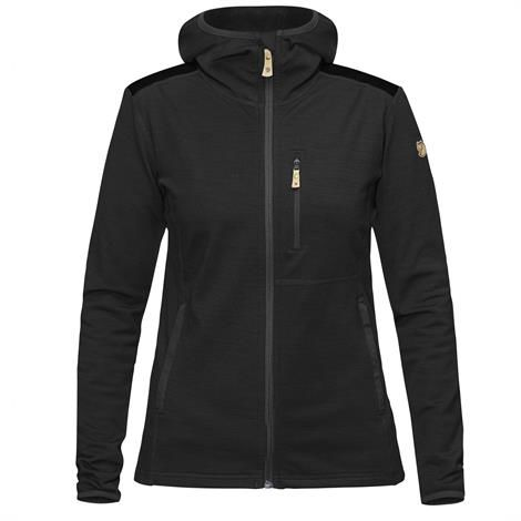 Image of   Fjällräven Keb Fleece Hoodie Womens, Dark Grey