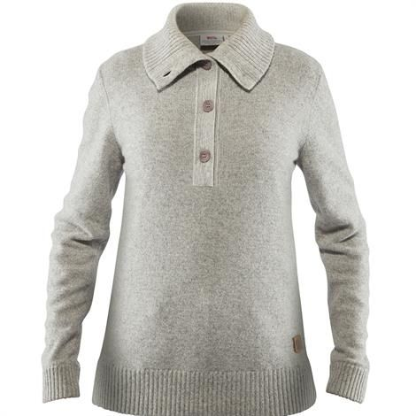 Image of   Fjällräven Greenland Re-Wool Sweater Womens, Grey
