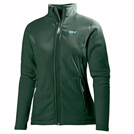 Image of   Helly Hansen Womens Daybreaker Fleece Jacket, Jungle Green
