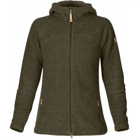 Image of   Fjällräven Kaitum Fleece Womens, Dark Olive