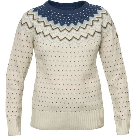 Image of   Fjällräven Övik Knit Sweater Womens, Glacier Green