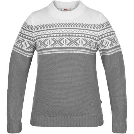 Image of   Fjällräven Övik Scandinavian Sweater Womens, Grey