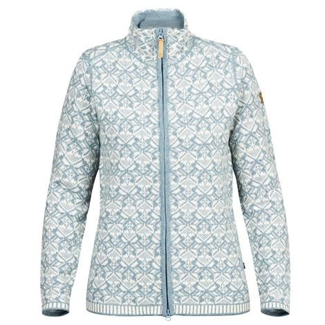 Fjällräven Snow Cardigan Womens, Frost Green