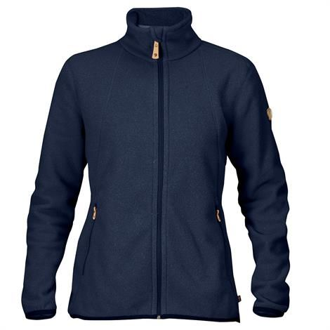 Fjällräven Stina Fleece Womens, Dark Navy