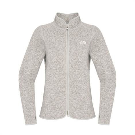 Image of   The North Face Womens Crescent Point Full Zip, Moonlight