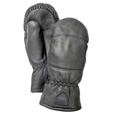 Image of   Hestra Leather Box - Mitt Unisex, Black